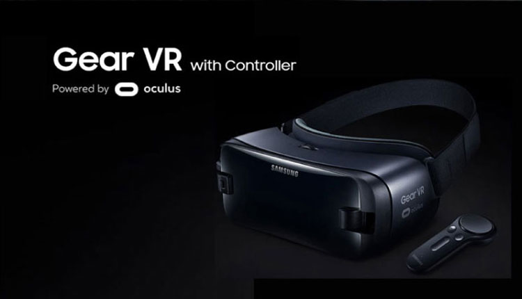 Gear VR with controller powered by oculus